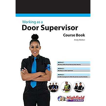 female door supervisor with sia badge