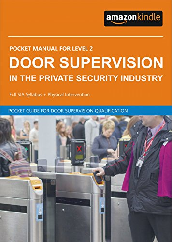 door supervisor pocket manual