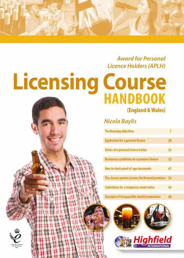Personal licence Course Book