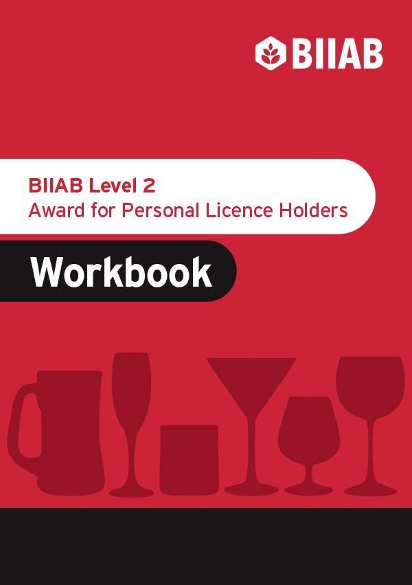 Personal Licence BIIAB workbook