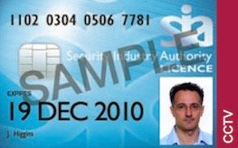 SIA CCTV licence