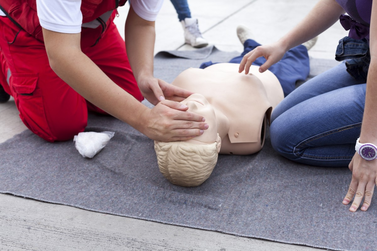 in2 first aid course